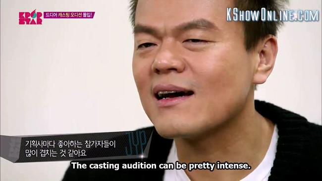 intense casting round